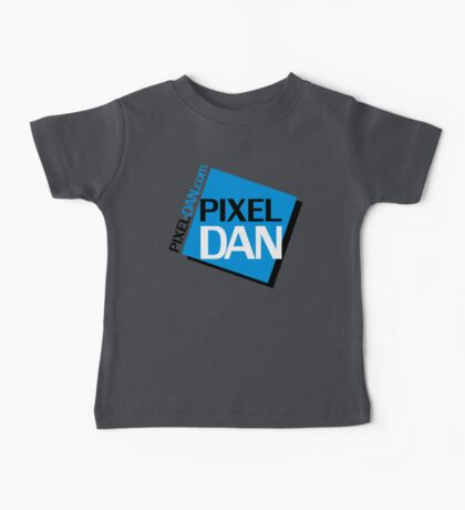 Pixel Dan Logo Baby Tee