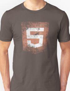 HTML5 Logo Distressed T-Shirt