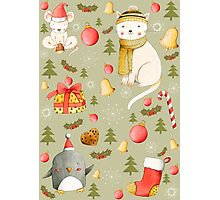 Christmas Pattern Photographic Print