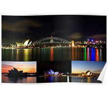 Colours of Sydney Poster
