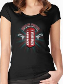 Inspector Spacetime v.2 Women's Fitted Scoop T-Shirt