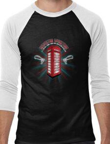 Inspector Spacetime v.2 Men's Baseball ¾ T-Shirt