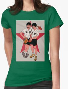 Ping Pong the animation Womens Fitted T-Shirt