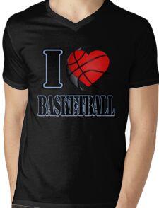 I love Basketball T-shirt Mens V-Neck T-Shirt