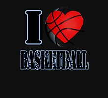 I love Basketball T-shirt Hoodie