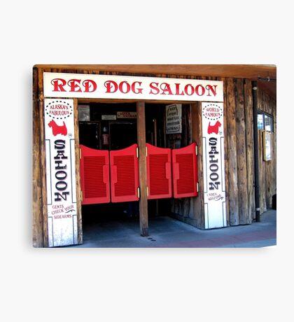 THE RED DOG SALOON JUNEAU ALASKA Canvas Print