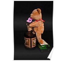 Boozy Bear Poster