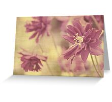 Hint of purple Greeting Card