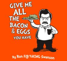 Ron Swanson VS Dr. Seuss by Tom Trager