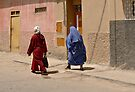 A Street in Taroudant, Morocco by Gerda Grice