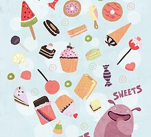 Sweets for Monsters by Judith Loske