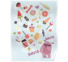 Sweets for Monsters Poster