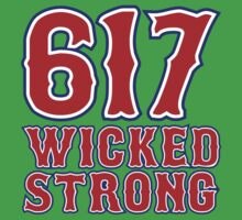 617 Wicked Strong Kids Tee