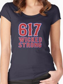 617 Wicked Strong Women's Fitted Scoop T-Shirt