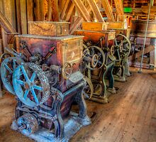 Milling Machines at Topaz Mill by Jerry E Shelton