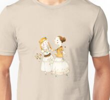 Hippie Girls Unisex T-Shirt