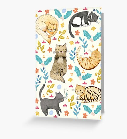 My Cats Greeting Card