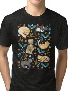 My Cats Tri-blend T-Shirt