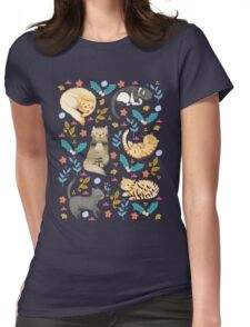 My Cats Womens Fitted T-Shirt