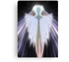An Angel Gets Her Wings Canvas Print