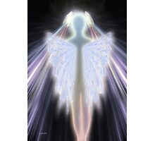 An Angel Gets Her Wings Photographic Print