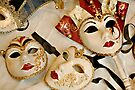 Venetian Masks by Gerda Grice