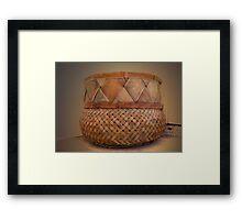 Southwestern Basket Framed Print