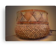 Southwestern Basket Canvas Print