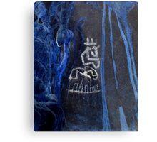 Cacique King-Hispanic Caribbean Taino Indian Caves Paintings Metal Print