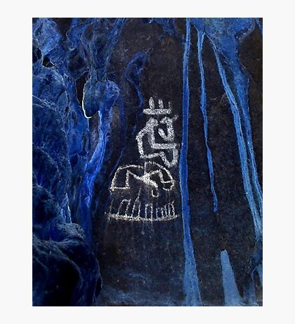Cacique King-Hispanic Caribbean Taino Indian Caves Paintings Photographic Print