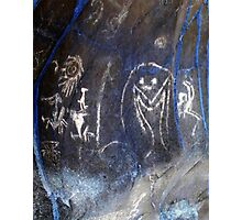 Spirits of the Cave-Hispanic Caribbean Taino Indian Caves Painting Photographic Print