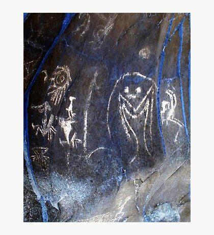 Spirits of the Cave-Hispanic Caribbean Taino Indian Caves Painting Photographic Print