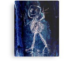 Taino Child-Hispanic Caribbean Taino Indian Caves Painting Metal Print