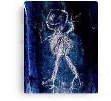 Taino Child-Hispanic Caribbean Taino Indian Caves Painting Canvas Print