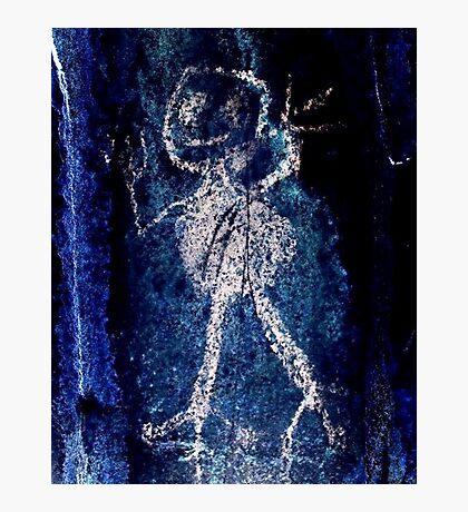 Taino Child-Hispanic Caribbean Taino Indian Caves Painting Photographic Print