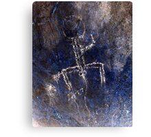 Boy Can't Wait-Hispanic Caribbean Taino Indian Caves Paintings Canvas Print