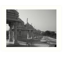 the Kaivalya Dham. Art Print