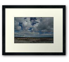 Coast at Dysart Framed Print