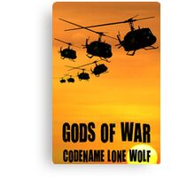Gods Of War Canvas Print