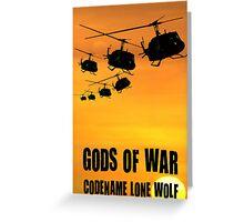 Gods Of War Greeting Card