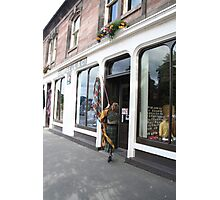 Opening for Tartan Trade - Campbell's shop. Photographic Print