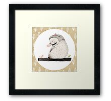 Sleeping Monster II Framed Print