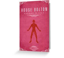 House Bolton Greeting Card