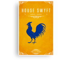 House Swyft Canvas Print