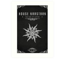 House Karstark Art Print