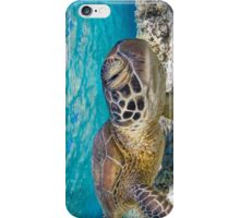 Winking turtle iPhone Case/Skin