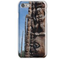 Totem Pole Alley iPhone Case/Skin
