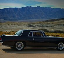 "1956 Lincoln Continental  Mark II ""At the desert ranch"" by TeeMack"