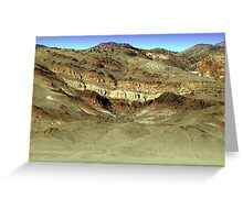 Painted Hills Nevada Greeting Card