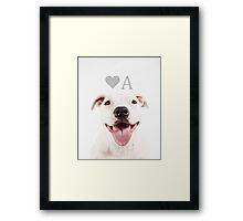 LOVEABULL Framed Print